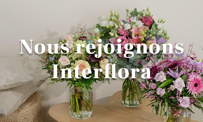 Nous rejoignons Interflora